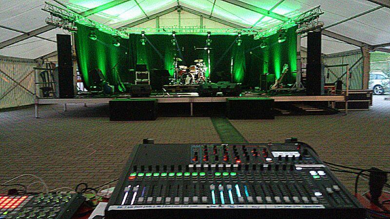 Crunchtime Bühne